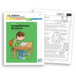 Compréhension de lecture Plus 4 -fiches reproductibles