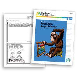 Résolution de problèmes 6 - fiches reproductibles