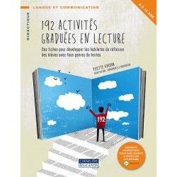 12 activités graduées en lecture