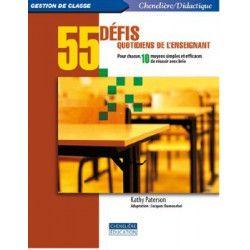 55 défis quotidiens pour l'enseignant