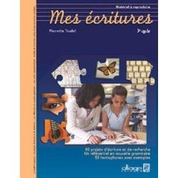 Mes écritures cycle 3