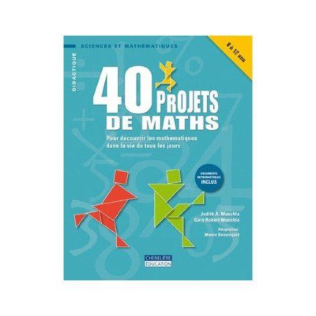 40 projets de maths