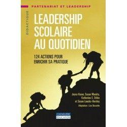 Leadership scolaire au quotidien