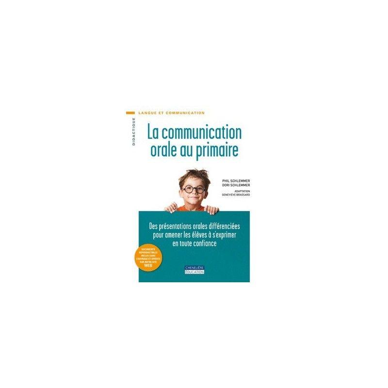 Communication orale au primaire