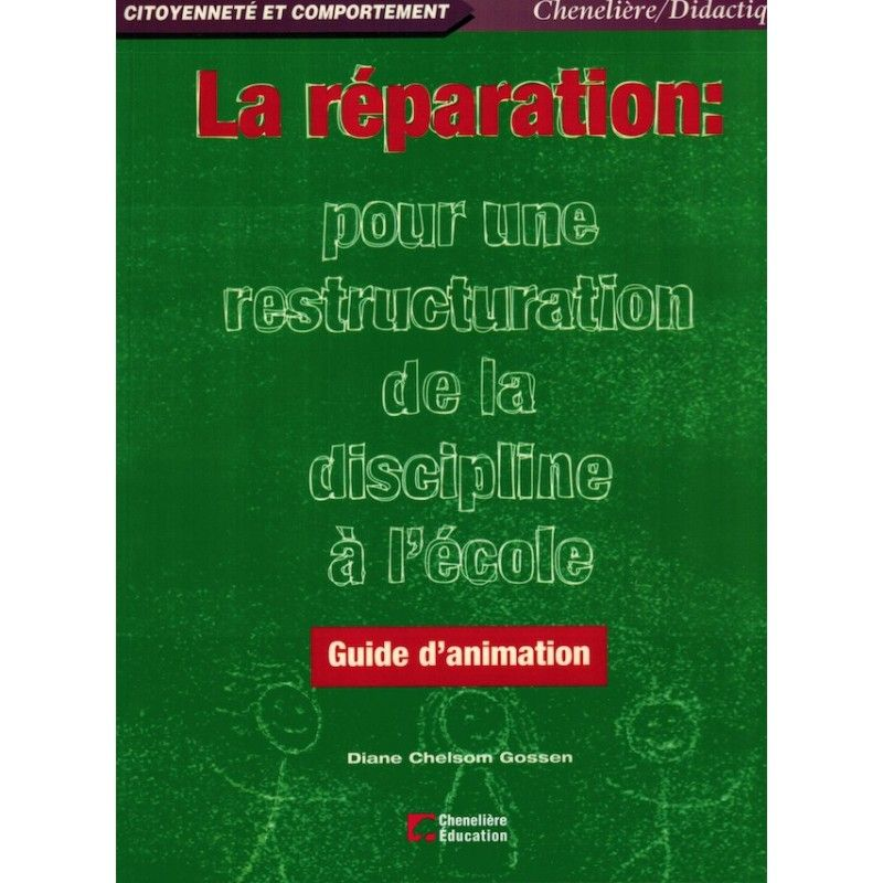 Réparation / guide d'animation