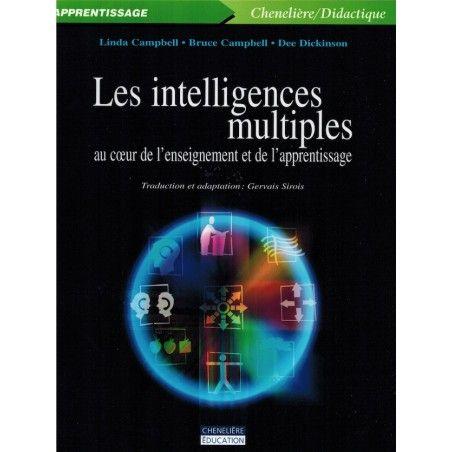 Intelligences multiples au coeur de l'enseignement et de l'apprentissage
