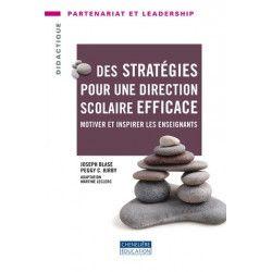 Stratégies pour une direction scolaire efficace