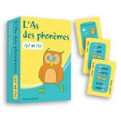 As des phonèmes p/b