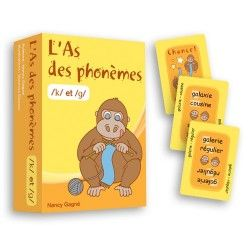 As des phonèmes k/g