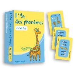 Lot de 6 jeux as des phonèmes