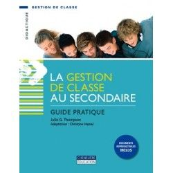 Gestion de classe au secondaire