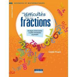 Difficultés liées aux fractions