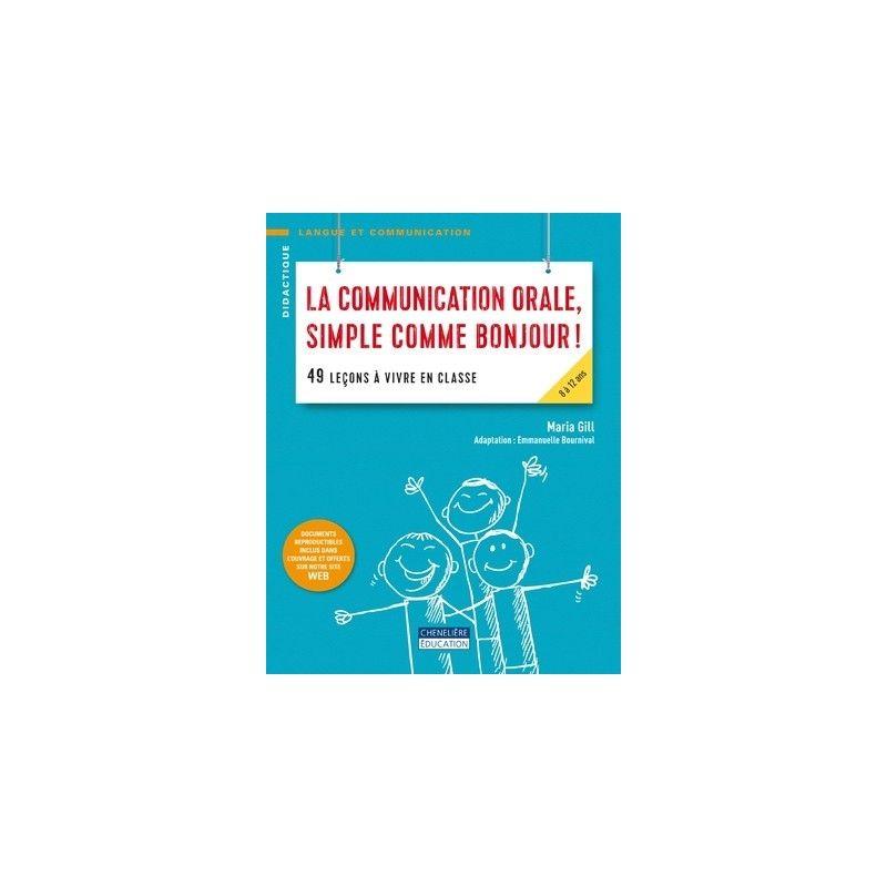 Communication orale, simple comme bonjour !