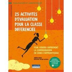 25 activités d'évaluation pour la classe différenciée