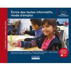 Écrire des textes informatifs, mode d'emploi (7-8 ans)