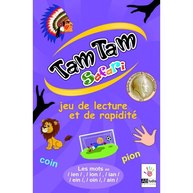 Tam Tam Safari IEN/EIN, ION/OIN, IAN/AIN