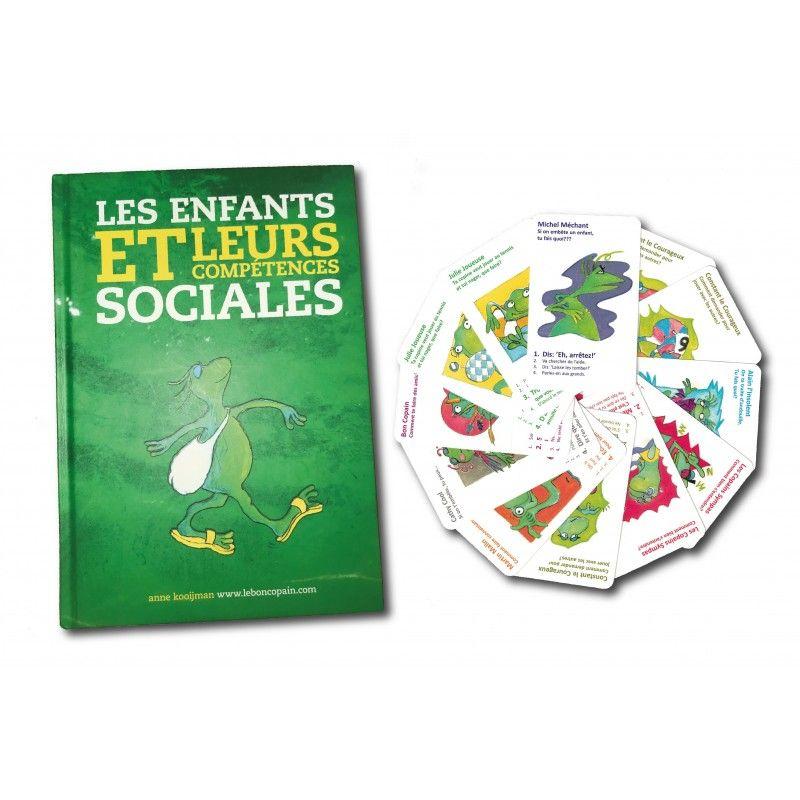 Les enfants et leurs compétences sociales (livre + jeu de cartes)