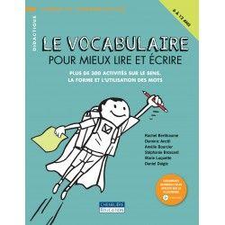 Vocabulaire pour mieux lire et écrire