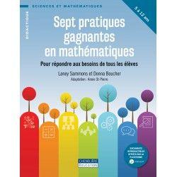 Sept pratiques gagnantes en mathématiques