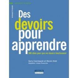 Devoirs pour apprendre - Pirouette Éditions