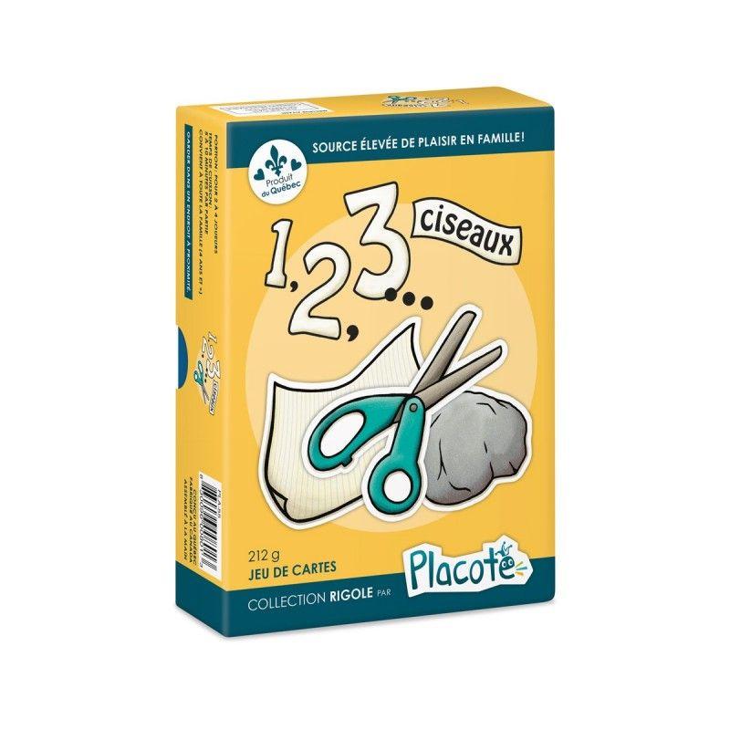 1 2 3 ciseaux