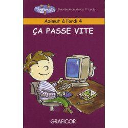 Azimut à l'ordi 4 (monoposte) - Pirouette Éditions