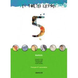 En toutes lettres - Manuel 5ème secondaire