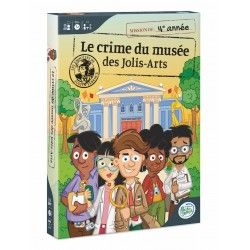 Justin Férence - Le crime du musée des Jolis-Arts