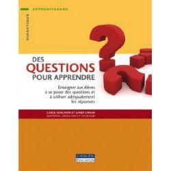 Des questions pour apprendre