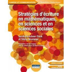 Stratégies d'écriture en mathématiques en sciences et en sciences sociales