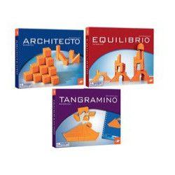 Lot 3 jeux collection Architecto