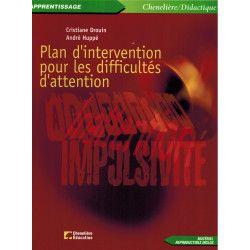 Plan d'intervention pour les difficultés d'attention