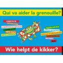 Qui va aider la grenouille ?