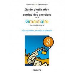 Guide d'utilisation de la grammaire du 3e cycle