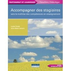Accompagner les stagiaires
