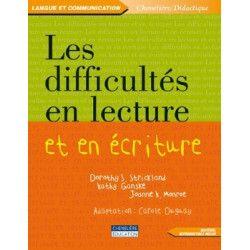 Difficultés en lecture et écriture